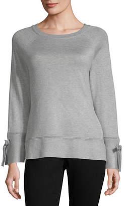 ISELA Isela Womens Round Neck Long Sleeve Pullover Sweater