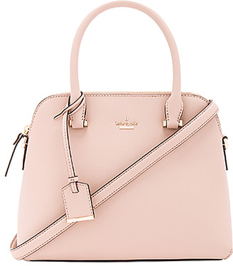 kate spade new york Maise Satchel in Blush. $298 thestylecure.com