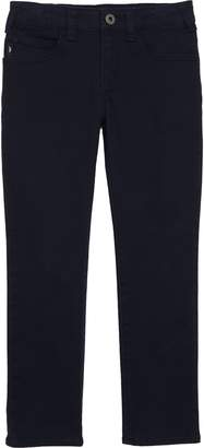 Armani Junior Straight Leg Pants