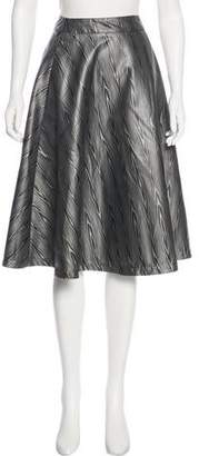 Creatures of the Wind A-Line Printed Skirt