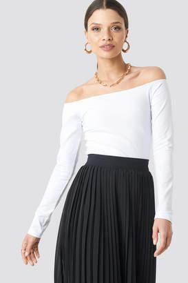 284699c71b28e8 Long Sleeve Off Shoulder Top - ShopStyle UK
