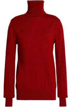 Chalayan Cutout Merino Wool Turtleneck Sweater