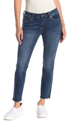 KUT from the Kloth Fray Hem Ankle Skinny Jeans