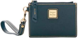 Dooney & Bourke Saffiano Zip Top Card Case Wristlet