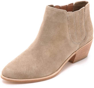 Joie Barlow Suede Booties $325 thestylecure.com
