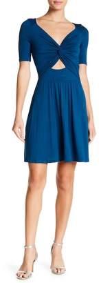 Vanity Room Twist Cutout Dress