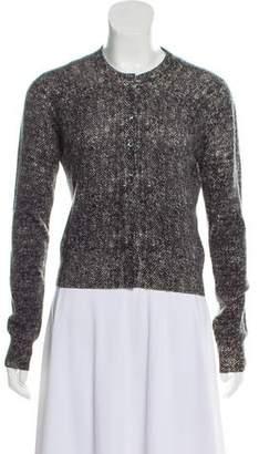 Dolce & Gabbana Printed Cashmere Cardigan