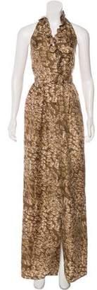 Rachel Zoe Asymmetrical Silk Dress