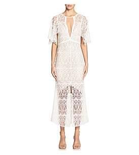 Manning Cartell Serpentine Lines V-Neck Dress