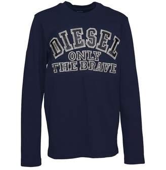 Diesel Boys Tippi ML SF T-Shirt Blue