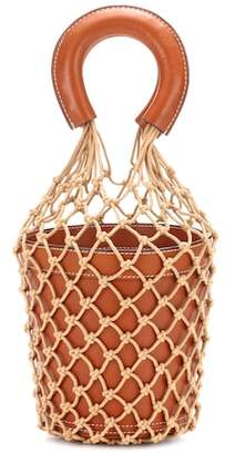 Staud Moreau leather bucket bag