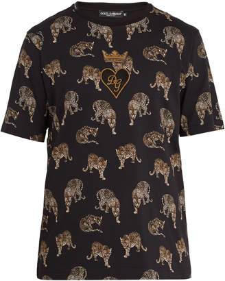 Saint Lau Short Sleeved Leopard Print Twill Shirt Tonal Brown Mens Yves Fragrance Famous Brand