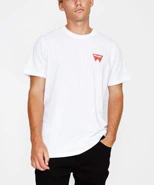 Wrangler Fangs Hit Short Sleeve T-shirt White