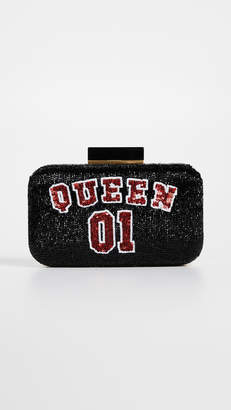 Alice + Olivia Shirley Queen Large Clutch