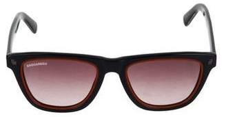DSQUARED2 Gradient Acetate Sunglasses