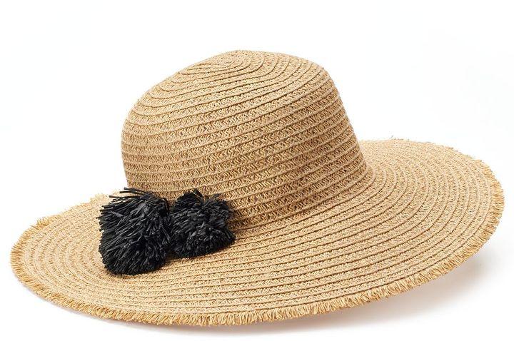 SONOMA Goods for LifeTM Pom-Pom Floppy Hat