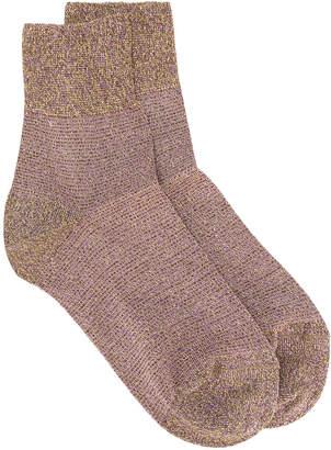 Missoni glitter socks