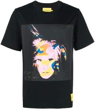 Calvin Klein Jeans Andy Warhol camouflage print T-shirt