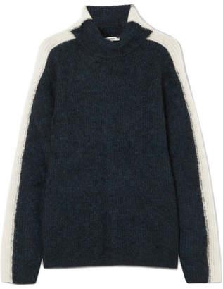Ganni Woman Cable-knit Merino Wool-blend Turtleneck Sweater Black Size L Ganni Sneakernews Cheap Price Sale Newest Free Shipping Shop Offer Enjoy Cheap Price Original Online lGDwt