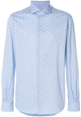 Orian long-sleeve embroidered shirt