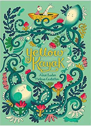 Simon & Schuster Yellow Kayak