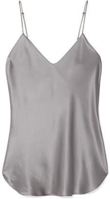 Nili Lotan Isabella Silk-satin Camisole - Silver