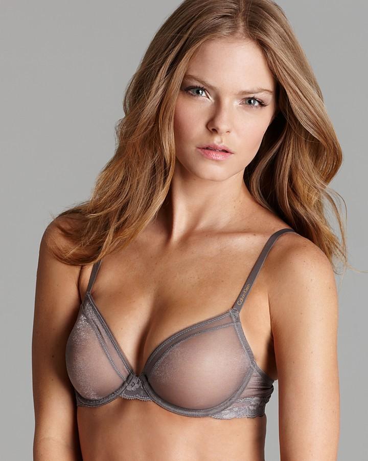 Calvin Klein Underwear Bra - Luster Unlined Underwire #F3615