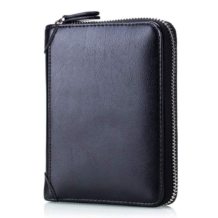 TACOO RFID Blocking Credit Card Holder Leather 40 Slots Card Wallet Purse for Men Women