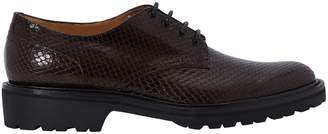 Dries Van Noten Croc leather derby shoes