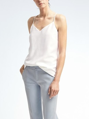 Easy Care Crepe Vee Cami $49.50 thestylecure.com