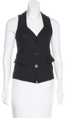 Diane von Furstenberg Wool Button-Up Vest