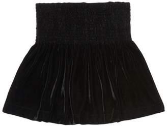 Ella Moss Girl's Velvet Skirt