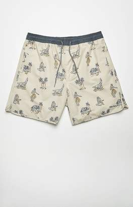 rhythm Sunset Beach Drawstring Shorts