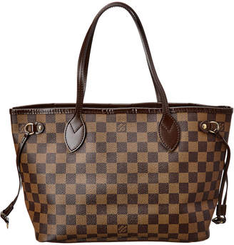 Louis Vuitton Damier Ebene Canvas Neverfull Pm