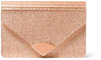 Michael Kors Barbara Medium Envelope Clutch Bag Rose Hardware