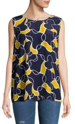 Hobbs Belinda Printed Sleeveless Top