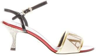 Dolce & Gabbana Amore Cream Color Sandals