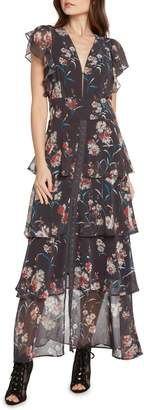 Willow & Clay Floral Tiered Maxi Dress