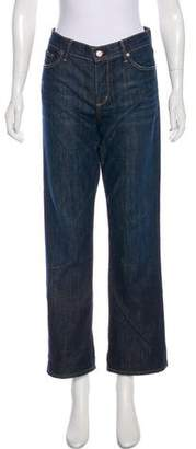 Citizens of Humanity Straight-Leg Mid-Rise Jeans