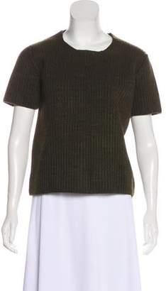 Rochas Knit Mélange T-Shirt