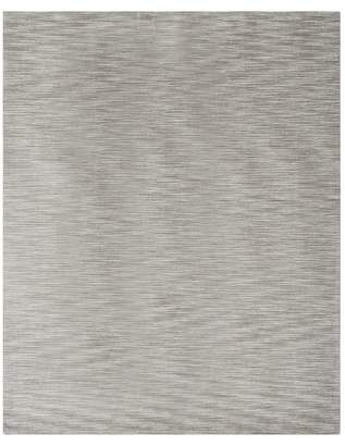 Pottery Barn Teen Space Dyed Rug, 8'x10', Gray