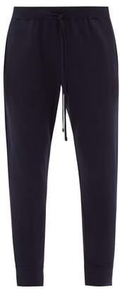 Handvaerk - Flex Cotton Blend Track Pants - Mens - Navy