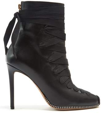 Altuzarra Lace-up leather ankle boots