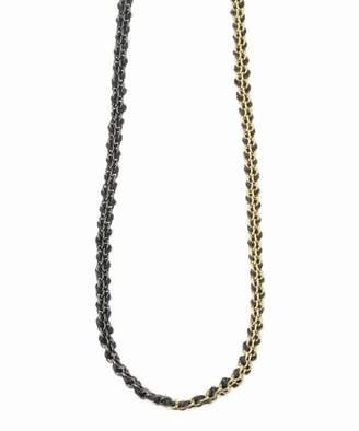 Journal Standard (ジャーナル スタンダード) - journal standard luxe 【17 STEPHANIE SCHNEIDER/17 ステファニーシュナイダー】 silk silver gold Necklace