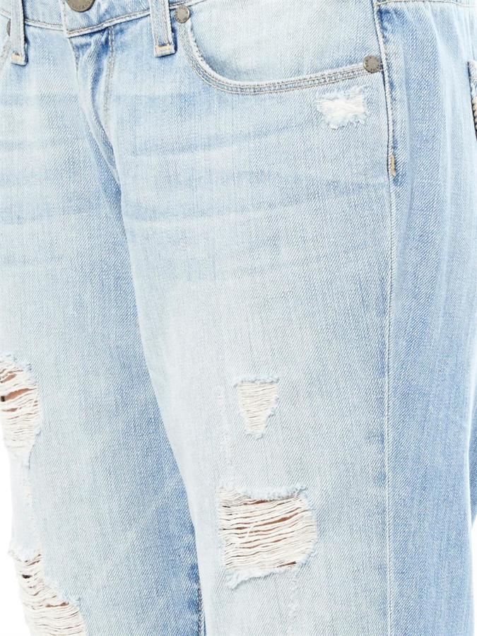 Paige Tyler distressed boyfriend jeans