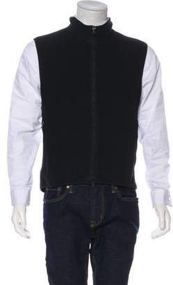 Prada Sport Fleece Sweater Vest