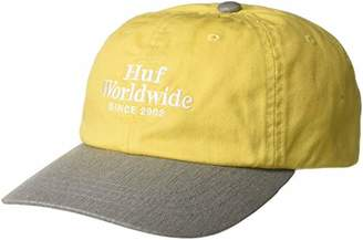 HUF Men's Worldwide CV 6 Panel HAT