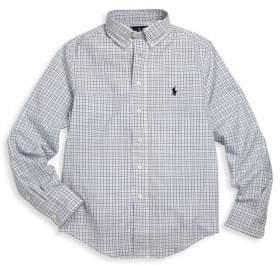 Ralph Lauren Toddler's, Little Boy's& Boy's Custom-Fit Cotton Dress Shirt
