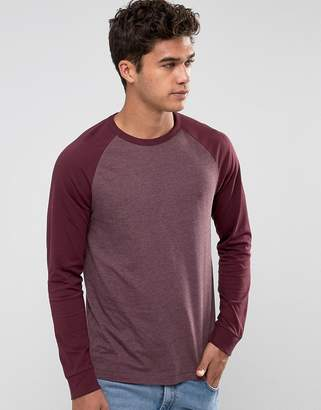 French Connection Long Sleeve Raglan Top