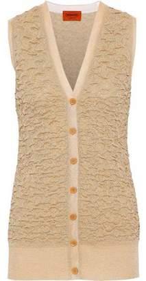 Missoni Metallic Cloqué-Knit Vest